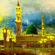 Islamic Painting 002 Art Print
