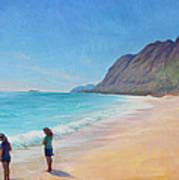 Island Breeze Art Print by Gwen Carroll