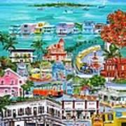 Island Daze Art Print