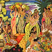 Island Feast Art Print
