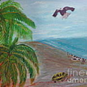 Island In Philippines Art Print