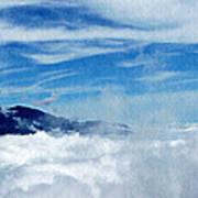 Island In The Clouds Art Print