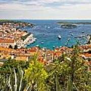 Island Of Hvar Scenic Coast Art Print