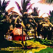 Island Paradise Art Print by CHAZ Daugherty