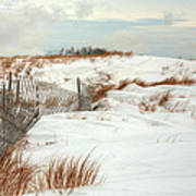 Island Snow Art Print