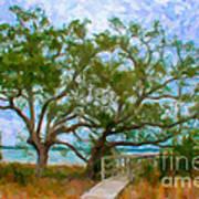 Island Time On Daniel Island Art Print