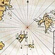 Islario General De Todas Las Islas Del Art Print