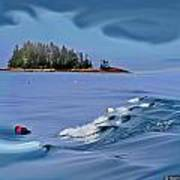 Isle Au Haut Dream Art Print