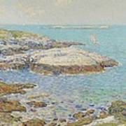 Isles Of Shoals Art Print by Childe Hassam