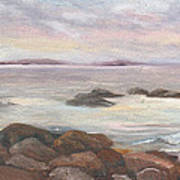Isles Of Shoals From Odiorne Point Art Print