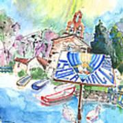 Isola Maggiore In Italy 01 Art Print
