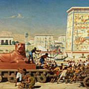 Israel In Egypt, 1867 Art Print
