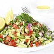Israeli Salad  Art Print