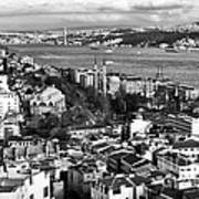 Istanbul Cityscape IIi Art Print