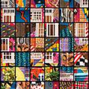 Istanbul Colour 10 Art Print