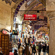 Istanbul Grand Bazaar 09 Art Print