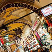 Istanbul Grand Bazaar 11 Art Print