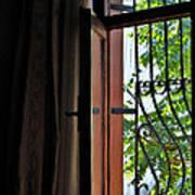 Istanbul Window Art Print