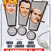 It Happened To Jane, L-r Doris Day Art Print