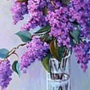 It Is Lilac Time Art Print