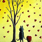 It Must Be Love By Shawna Erback Art Print