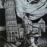 Italian Fantasies. Pisa Art Print