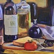 Italian Kitchen Print by Donna Tuten