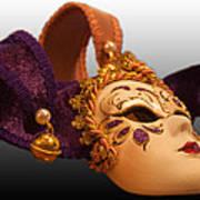 Italian Masquerade Art Print