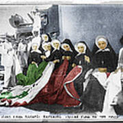 Italian Nuns Art Print