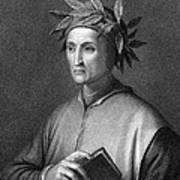 Italian Poet Dante Alighieri Art Print