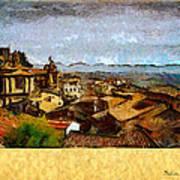 Italian Rooftops Art Print