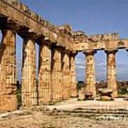 Italian Ruins 2 Art Print