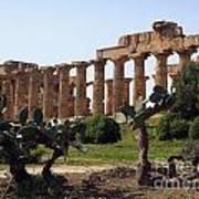 Italian Ruins Art Print