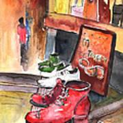 Italian Shoes 05 Art Print