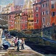 Italian Town Art Print