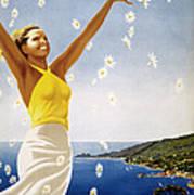 Italian Travel Poster, 1951 Art Print