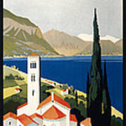 Italian Travel Poster, C1930 Art Print