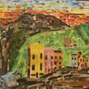 Italian Village Art Print