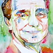 Italo Calvino Art Print