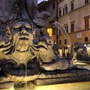 Italy. Lazio. Rome. Rome. Piazza Della Art Print