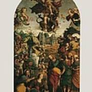 Italy, Marche, Pesaro-urbino, Fano Art Print