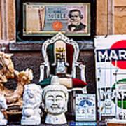 Italy Memorabilia Art Print