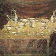 Italy. Pompeii. Vesuvius Gate. Tomb Art Print