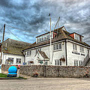 Itchenor Harbour Office Hdr Art Print