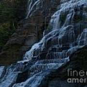 Ithaca Falls At Dusk Art Print by Anna Lisa Yoder