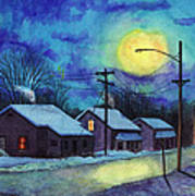Its Cold Outside. Art Print