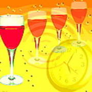 Its Five O'clock Somewhere Art Print