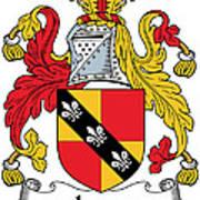 Ivers Coat Of Arms II Irish Art Print