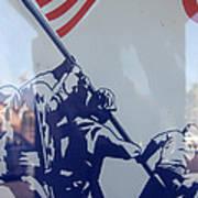 Iwo Jima Flag Raising Design Arizona City Arizona 2004 Art Print