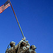 Iwo Jima Memorial At Arlington National Art Print